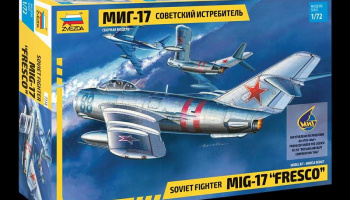 "MIG-17 ""Fresco"" (1:72) Model Kit 7318 - Zvezda"