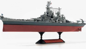 Model Kit loď 14223 - USS Missouri BB-63 Modeler's Edition (1:700)