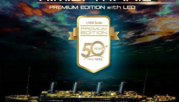 Model Kit loď 14226 - R.M.S TITANIC PREMIUM EDITION WITH LED (1:400)