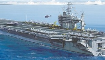 Model Kit loď 5531 - U.S.S. ROOSEVELT CVN-71 (1:720)