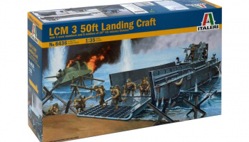 LCM Landing craft (1:35) - Italeri