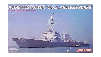 "Model Kit loď 7029 - AEGIS DESTROYES ""U.S.S. ARLEIGH BURKE"" (1:700)"