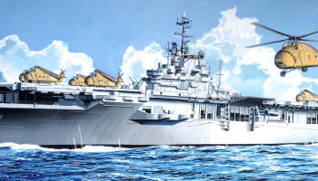 Model Kit loď 7070 - U.S.S. BOXER LPH-4 (1:700)