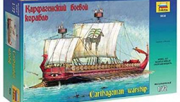 Carthagenian Warship (1:72) Model Kit 9030