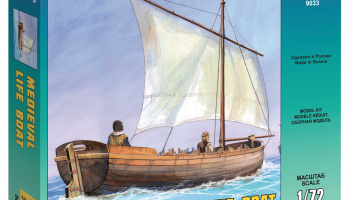 Model Kit loď 9033 - Medieval Life Boat (1:72)