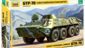 Model Kit military 3556 - BTR-70 Soviet APC (re-release) (1:35)