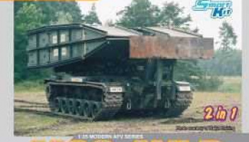 M60 AVLB (Armored Vehicle Launched Bridge) SMART KIT (1:35) Model Kit military 3591 - Dragon