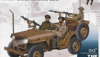 IDF 1/4-Ton 4x4 Truck w/MG34 Machine Guns (1:35) Model Kit 3609 - Dragon
