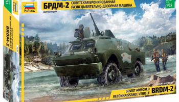 Model Kit military 3638 - BRDM-2 Russian Armored Car (1:35) - Zvezda