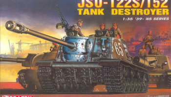 Model Kit military 6047 - JSU 122S/152 Tank Destroyer (1:35)