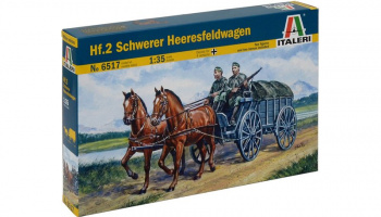 Model Kit military 6517 - Hf.7 HEERESFELDWAGEN (1:35)