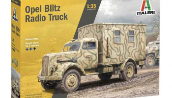 Opel Blitz Radio Truck (1:35) Model Kit 6575 - Italeri