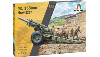 Model Kit military 6581 - M1 155mm Howitzer (1:35)
