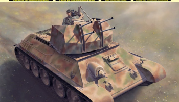 Model Kit military 6599 - Flakpanzer T-34 (1:35)