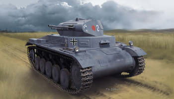 Model Kit military 6687 - PZ.KPFW.II AUSF.A POLAND 1939 (1:35)