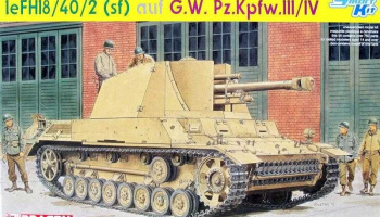 Model Kit military 6710 - leFH18/40/2 (Sfl) auf G.W PZ. KPFW. III/IV (SMART KIT) (1:35)