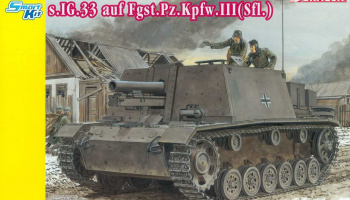 Model Kit military 6713 - s.IG.33 auf Fgst.Pz.Kpfw. III (Slf) (1:35)