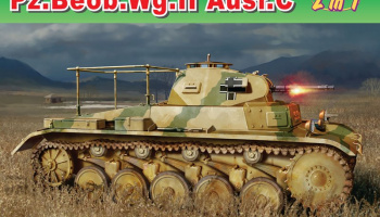 Pz.Beob.Wg.II Ausf. A-C (1:35) Model Kit military 6812 - Dragon