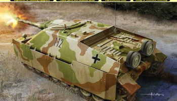 Model Kit military 6843 - Sd.Kfz.162 Jagdpanzer IV A-0 (1:35)