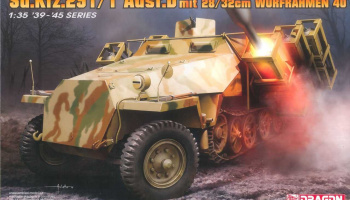 Model Kit military 6861 - Sd.Kfz.251/1 Ausf.D with 28/32cm Wurfrahmen 40 (1:35)