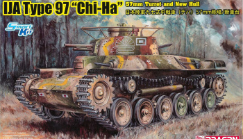 "IJA Type 97 ""Chi-Ha"" w/57mm Gun and New Hull (1:35) Model Kit military 6875 - Dragon"