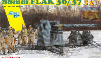 Model Kit military 6923 - 88mm FlaK 36/37 (2 in 1) (1:35)