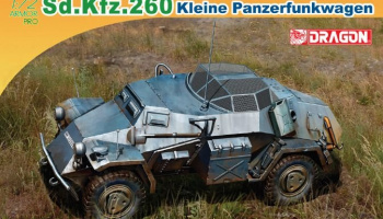 Model Kit military 7446 - Sd.Kfz.260 KLEINER PANZERFUNKWAGEN (1:72)