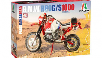 Model Kit motorka 4641 - BMW 1000 Dakar 1985 (1:9)- Italeri