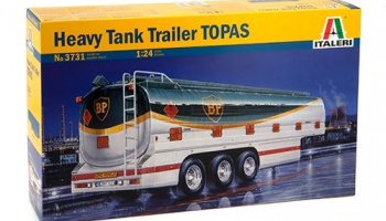 "HEAVY TANK TRAILER ""TOPAS"" (1:24) Model Kit 3731 - Italeri"