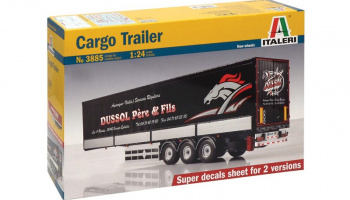CARGO TRAILER (1:24) Model Kit návěs 3885 - Revell