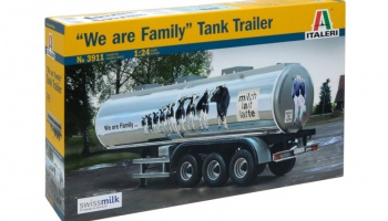 "CLASSIC TANK TRAILER ""We are family"" - Italeri"