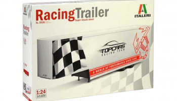 Racing Trailer (1:24) - Model Kit Trailer 3936