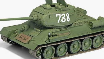 "Model Kit tank 13290 - T-34/85 ""112 FACTORY PRODUCTION"" (1:35)"