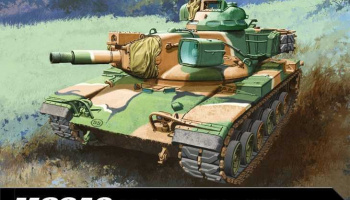 Model Kit tank 13296 - US ARMY M60A2 (1:35)