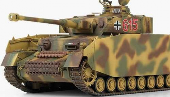 "Model Kit tank 13516 - German Pz.Kpfw.IV Ausf.H ""Ver. MID"" (1:35)"