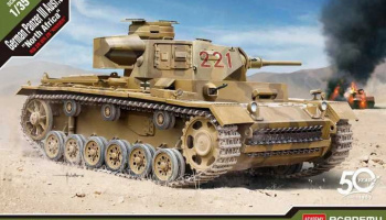 "Model Kit tank 13531 - German Panzer III Ausf.J ""North Africa"" (1:35) - Academy"