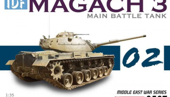 Model Kit tank 3567 - IDF Magach 3 (1:35)