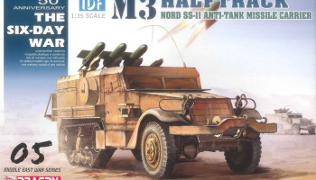 Model Kit tank 3579 - IDF M3 Halftrack Nord SS.11 Anti-Tank Missile Carrier (Smart Kit) (1:35)