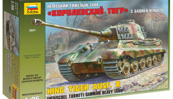 Model Kit tank 3601 - Kingtiger Henschel (1:35)