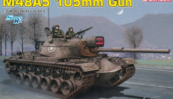 Model Kit tank 3611 - M48A5 105mm Gun (1:35)