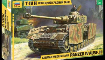 Model Kit tank 3620 - Panzer IV Ausf.H German Medium Tank (1:35)