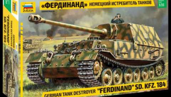 "Model Kit tank 3653 - Sd.Kfz.184 ""Ferdinand"" (1:35)"