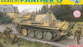 Model Kit tank 6268 - Sd.Kfz.171 PANTHER G LATE PRODUCTION (SMART KIT) (1:35)