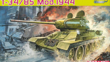 Model Kit tank 6319 - T-34/85 MOD.1944 (PREMIUM EDITION) (1:35)