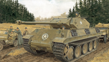 ERSATZ M10 (SMART KIT) (1:35) Model Kit tank 6561 - Dragon