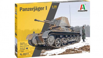 Panzerjager I (1:35) Model Kit tank 6577 - Italeri