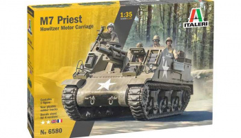 M7 Priest (1:35) Model Kit tank 6580 - Italeri