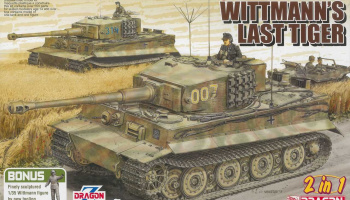 WHITMANN'S LAST TIGER (1:35) Model Kit 6800 - Dragon
