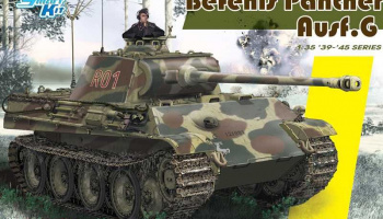 Model Kit tank 6847 - Pz.Bef.Wg.V Panther Ausf.G (Smart Kit) (1:35)