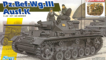 Model Kit tank 6853 - Pz.Bef.Wg.III Ausf.K (Smart Kit) (1:35)